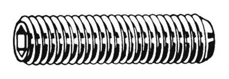Socket Set Screw, Cup, 4-40x3/16, PK100