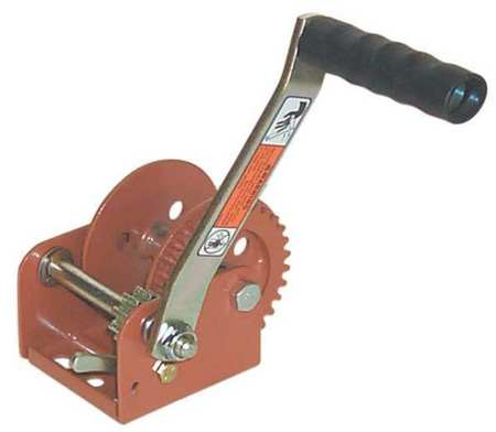 Ratcheting Winch, Spur, No Brake, 900 lb.