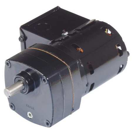 AC Gearmotor, 17 rpm, Open, 230V