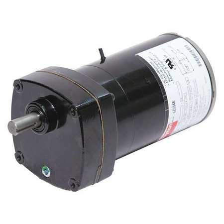AC Gearmotor, 124 rpm, TENV, 115V