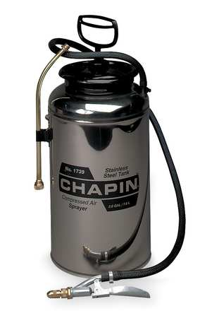 2-Gallon Stainless Steel Handheld Sprayer