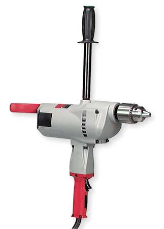 Electric Drill, 3/4 In, 350 rpm, 10.0A