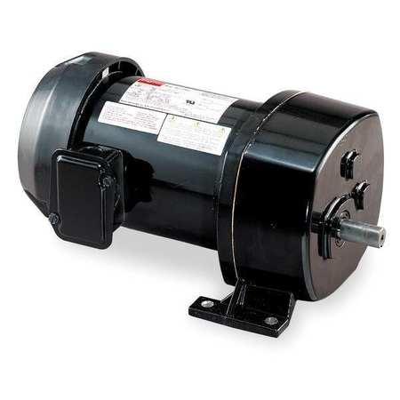 AC Gearmotor, 137 rpm, TEFC, 115V