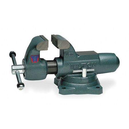 Machinist's Vise, Swivel, 4-1/2 In Jaw, DI