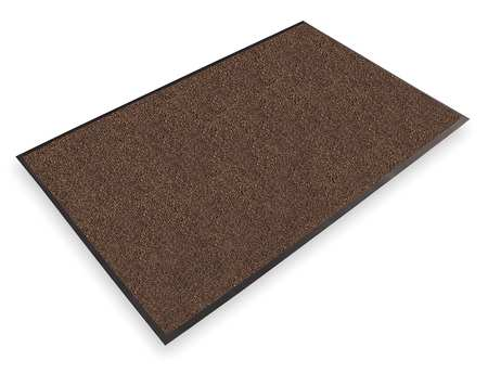 Carpeted Entrance Mat, Dark Brown, 4ftx6ft