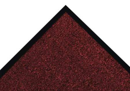 Carpeted Entrance Mat, Red/Black, 4ftx6ft