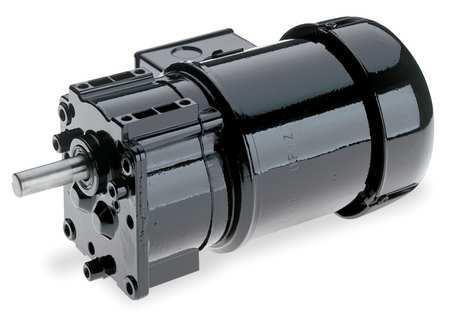 AC Gearmotor, 161 rpm, TEFC, 115/230V