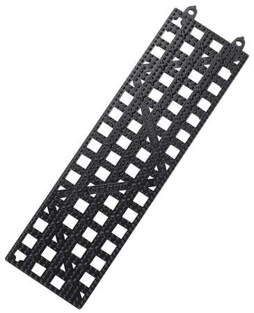 Bar Mat 12x3 1/2,  Plastic Black PK12