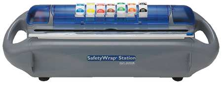 Safety Wrap Station with 1 Slide Cutter