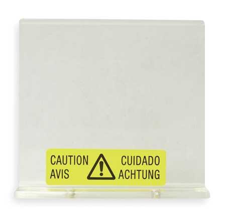 """Wiper Plate, For 4FE53,  3"""" Tape Dispenser"""