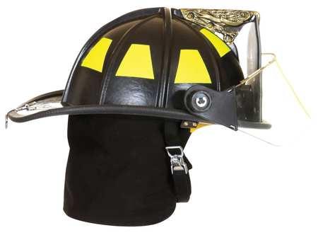 Fire Helmet, Black, Traditional