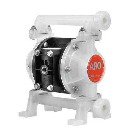 "3/8"" Polypropylene Air Double Diaphragm Pump 8.7 GPM 150F"