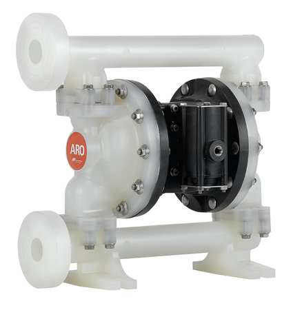 "1"" Polypropylene Air Double Diaphragm Pump 53 GPM 150F"