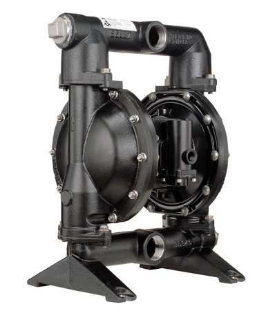 "1-1/2"" Cast Iron Air Double Diaphragm Pump 123 GPM 200F"