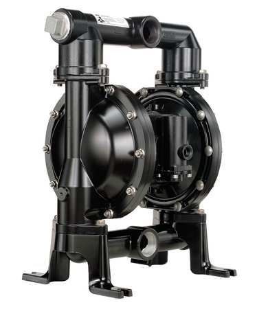"1-1/2"" Aluminum Air Double Diaphragm Pump 123 GPM 200F"
