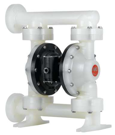 "2"" Polypropylene Air Double Diaphragm Pump 184 GPM 150F"