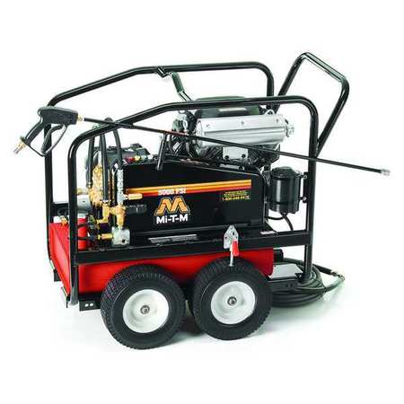 Industrial Duty 5000 psi 4.0 gpm Cold Water Gas Pressure Washer