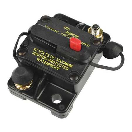 Automotive Circuit Breaker, CB185, 50A, 42V