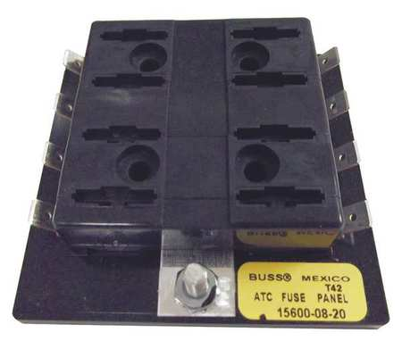 Fuse Block, Automotive, 30A, 8 Pole
