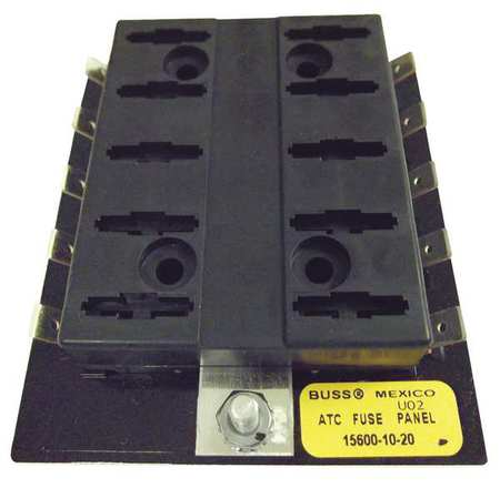 Fuse Block, Automotive, 30A, 10 Pole