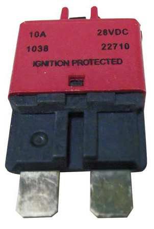 Automotive Circuit Breaker, CB227, 10A, 28V