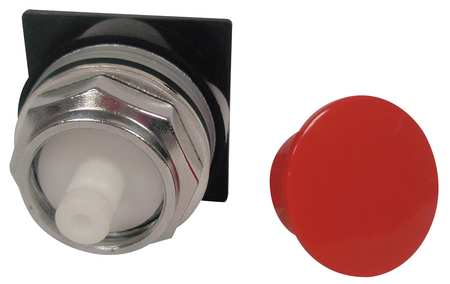 Non-Illum Push Button Operator, 30mm, Red