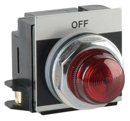 Pilot Light,Red,Incandescent