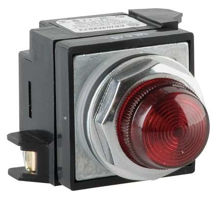Pilot Light Complete,Red,Incandescent
