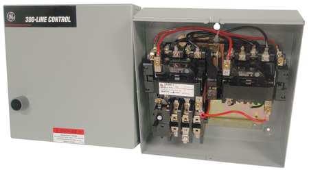 Magnetic Motor Starter, NEMA, 120V, 3P, 18A