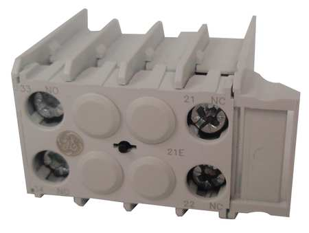 Aux Contact Block, 1NO-1NC, Front Mtg