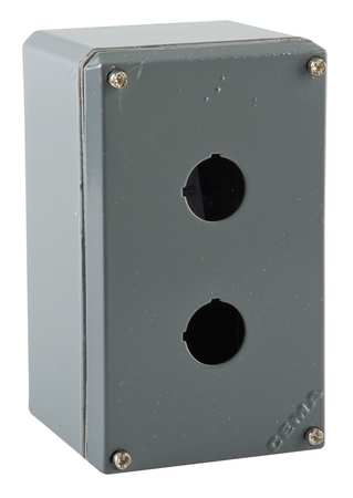 Pushbutton Enclosure, 22mm, 5.71 in. H