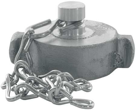 Rocker Lug Cap w/Chain, FNPSH, 2-1/2 In