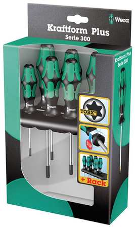 Screwdriver Set, Torx(R), 6 Pc