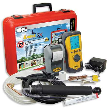 Portable Combustion Analyzer, NOX Sensor