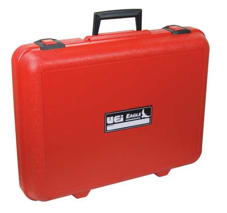 Carrying Case, 14 In H, 3-1/2 In D, Red
