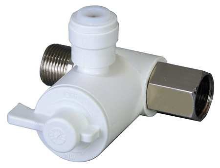 Stop Valve Adapter,  3/8In x 3/8In
