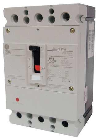 3P Standard Circuit Breaker 25A 347/600VAC