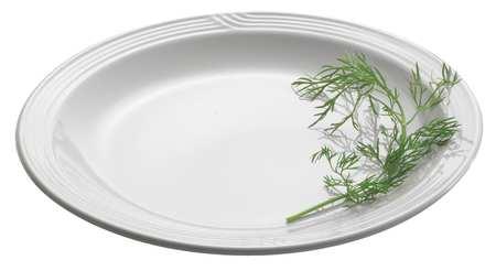 "Dinner Plate,  9"",  China White PK12"