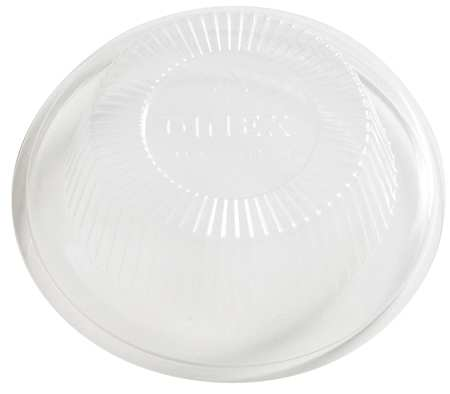 Lid for 5 oz. Hot/Cold Cup,  Dome,  Non Vented,  Clear,  Pk1000