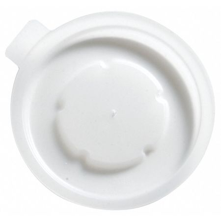 Lid for 6 oz. Cold Cup,  Flat,  Vented,  Translucent,  Pk1000