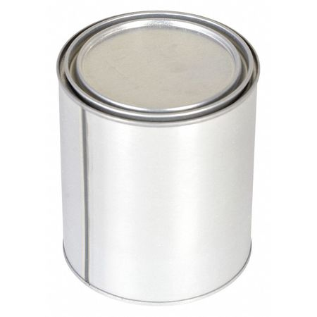 Round Metal Can,  32 oz,  With Lid