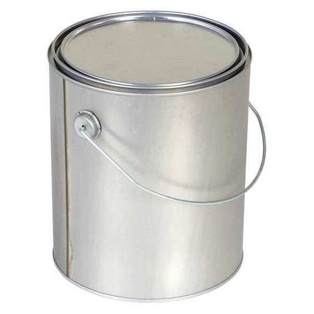 Round Metal Can, 1 gal., With Lid