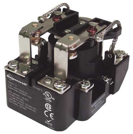Open Power Relay, 8 Pin, 240VAC, DPDT