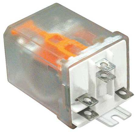 Enclosed Power Relay, 5 Pin, 24VDC, SPDT