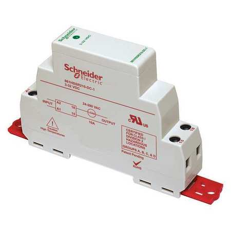 Solid State Relay, 3 to 32VDC, Triac, 8A