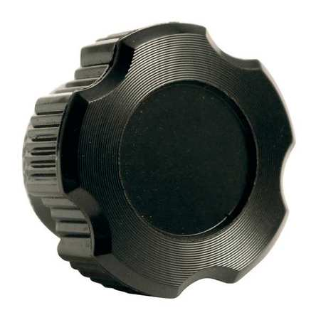 "Fluted Knob,  1/4-20 Thread Size,  0.86""L,  Blind Tap,  HR Phenolic"