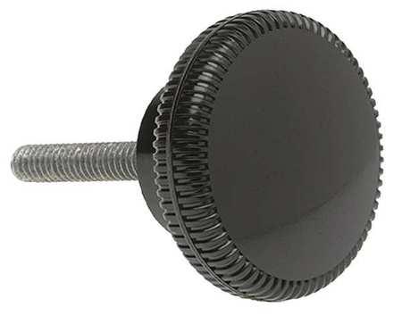 "Knurled Clamp Knob,  Thread Size 1/4-20,  1""L"