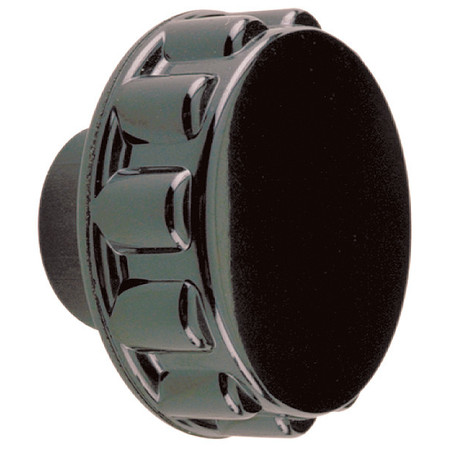 "Round Grip Clamp Knob,  10-32 Thread Size,  0.375""L"