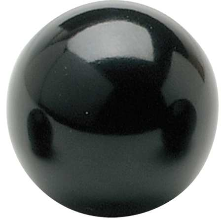 "Deluxe Ball Knob,  10-32 Thread Size,  0.38"" Type,  GP Phenolic"