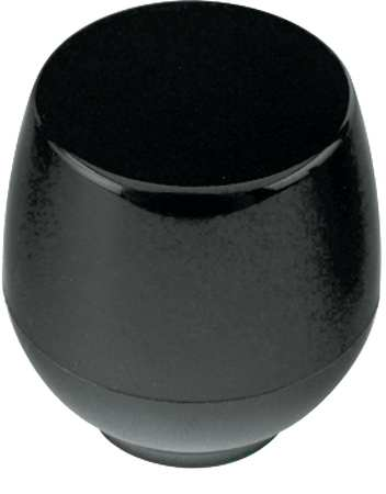 "Shift Knob,  Ball Knob,  3/8-16 Size,  1.50""L,  GP Phenolic"